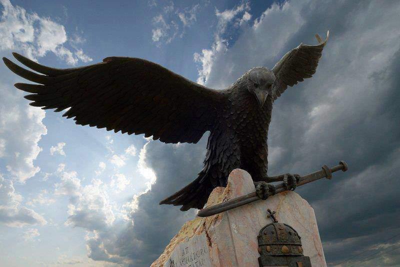 Turul, ave mitológica involucrada en la fundación del estado húngaro