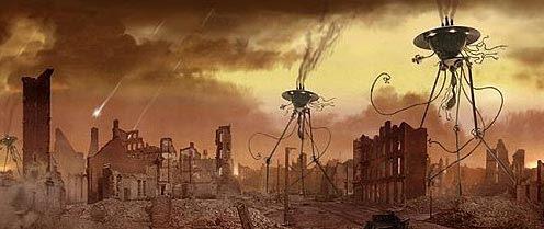 Las bacterias en la guerra de los mundos