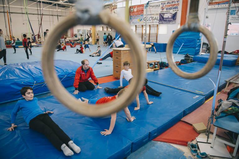Gimnasia infantil y condición física