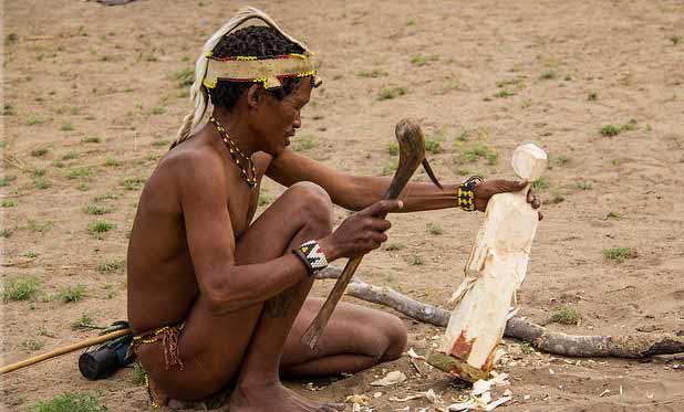 ¡Kung, mejor ejemplo de lo absurdo de los postulados de la dieta paleolítica