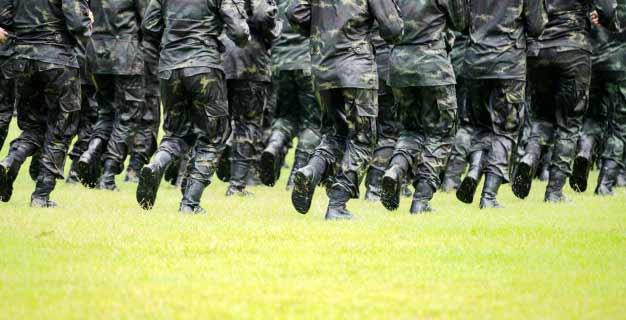 Experimentos con adaptógenos en militares