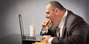 El estrés está asociado con la obesidad