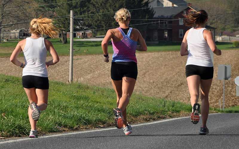 La carrera para entrenar la resistencia aeróbica