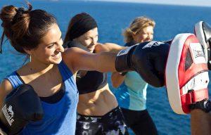 Los deportes de contacto son una forma divertida de entrenamiento aeróbico
