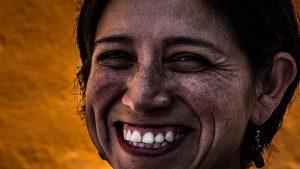Sonrisa sincera