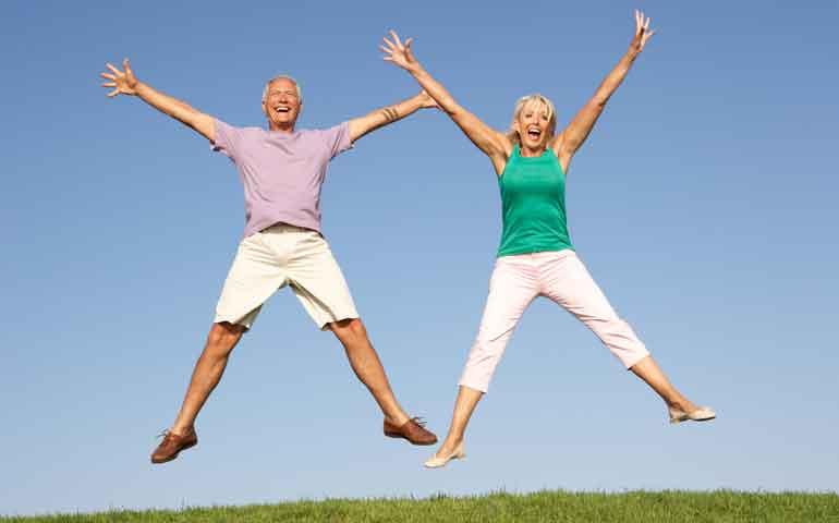 Actividad física y felicidad
