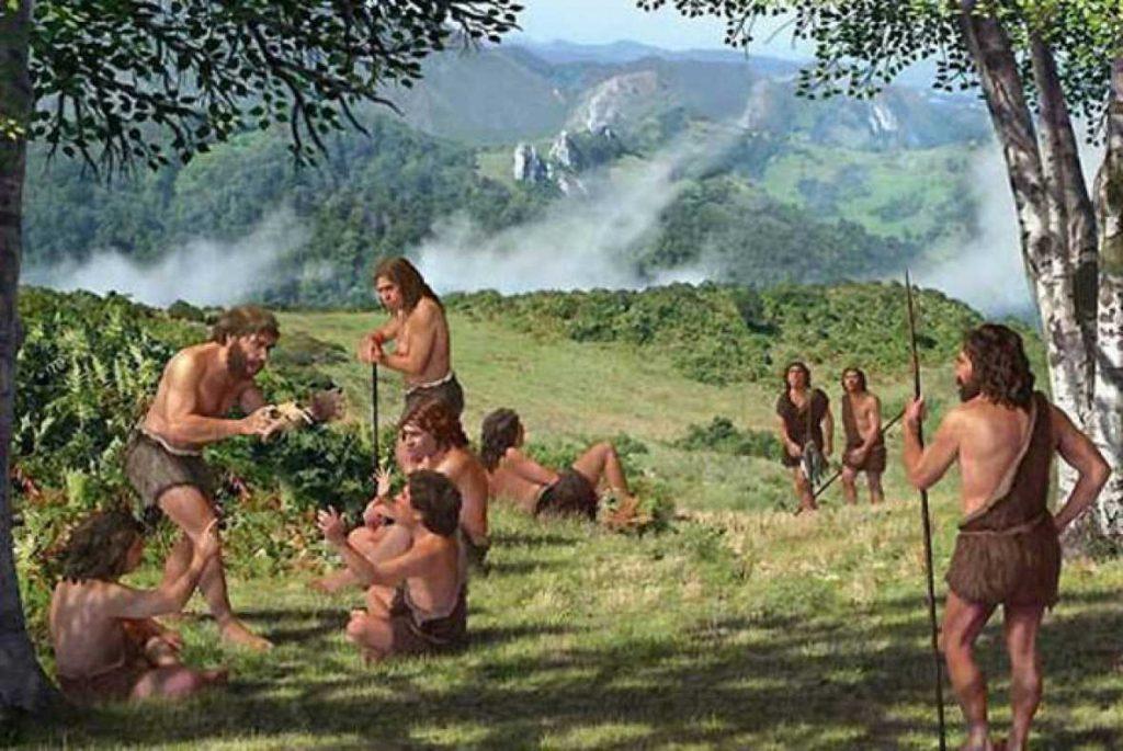 La alimentación del Homo Sapiens en el Paleolítico