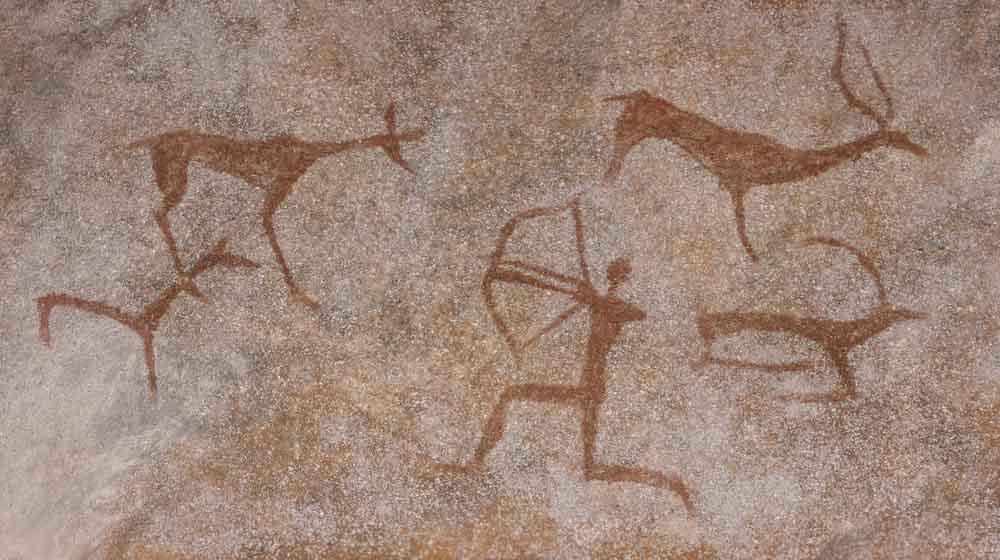 Pinturas rupestres. La alimentación del homo sapiens en el Paleolítico