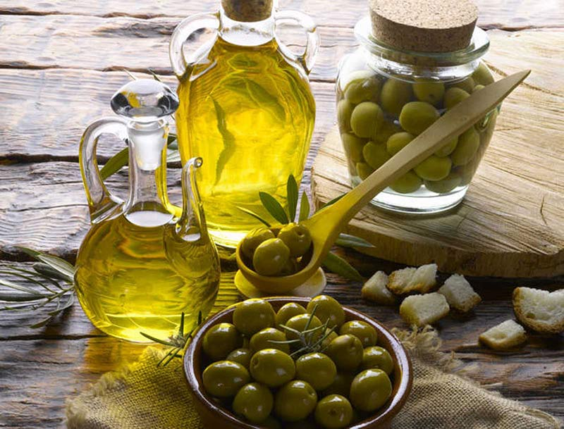 Aceite de oliva, alimento rico en polifenoles