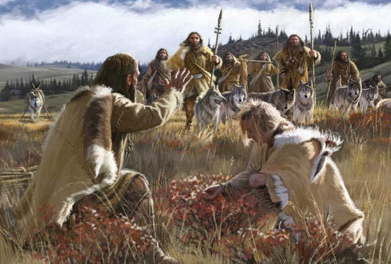 Alimentación del Homo sapiens en el Mesolítico