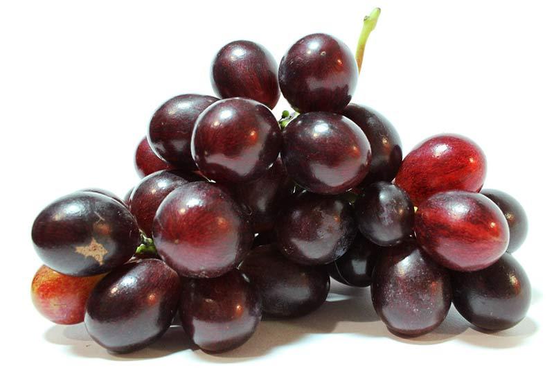 Uvas, uno de los alimentos que protegen del sol