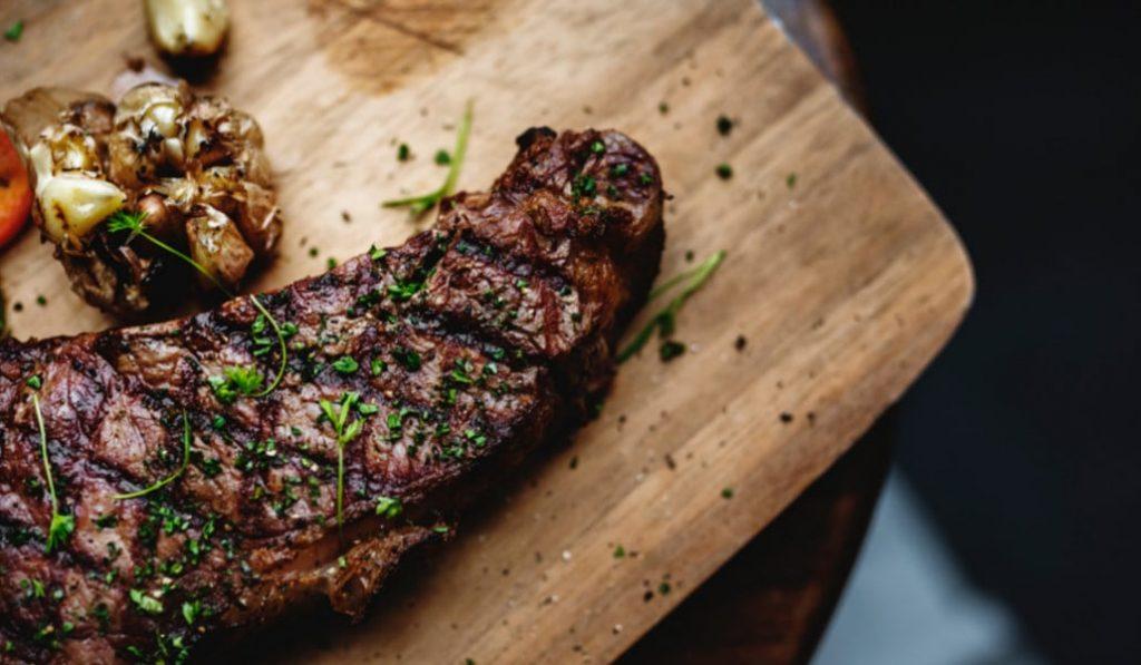 La carne es buena