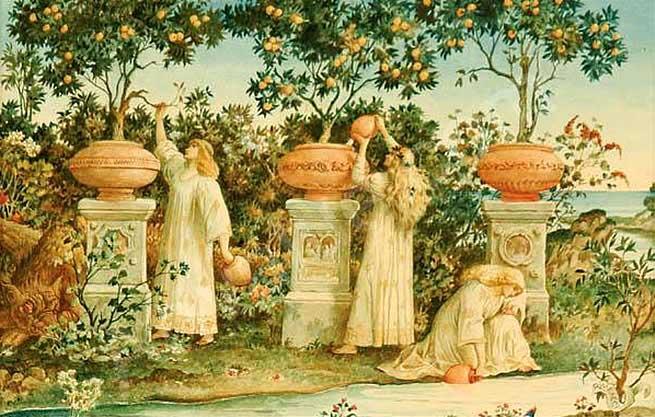 El jardín de las Hespérides