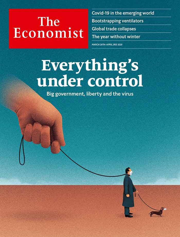 Portada de economist: todo bajo control