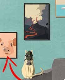 La primera imagen (¿orden cronológico?) de la próxima gran estafa es un cerdo. Hagan sus apuestas.