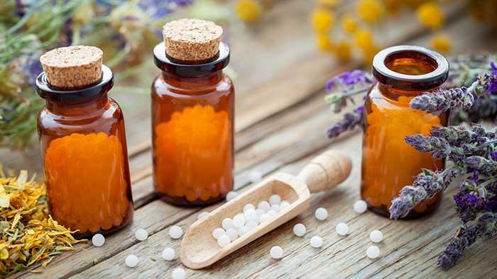 Medicamentos homeopáticos en gránulos