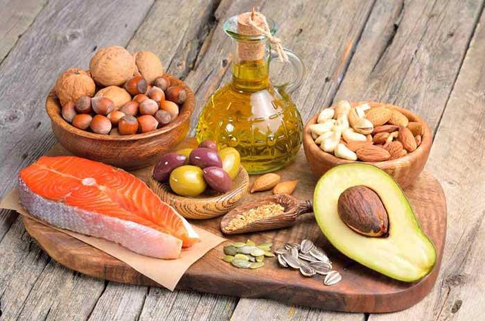 Alimentos ricos en las llamadas grasas saludables