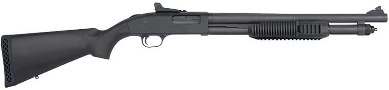 Escopeta táctica de corredera/pump action, calibre 12