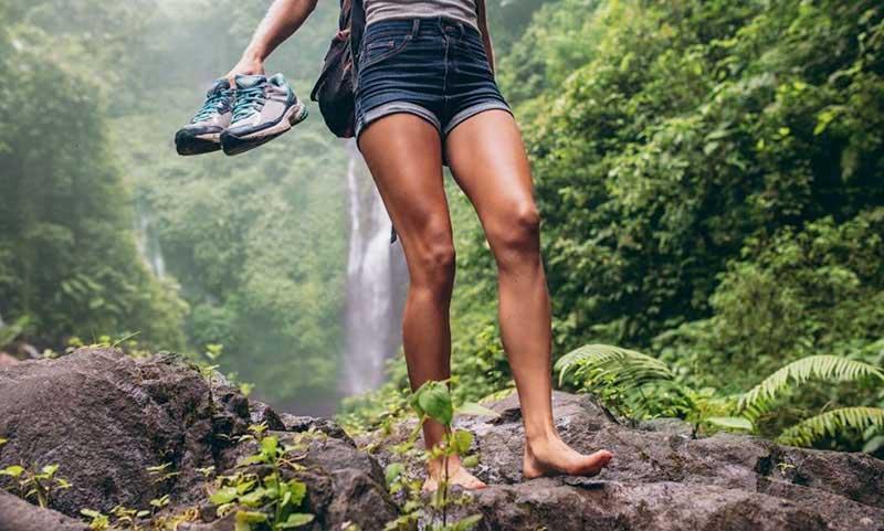 Grounding. Beneficios de andar descalzo