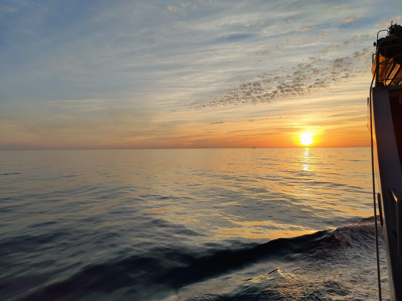 Si frente al amanecer de un nnuevo día usted se estremece, puede que haya un atisbo de esperanza para la Humanidad (foto cedida por M. Holguín Mohedas)