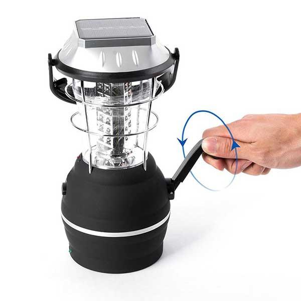 Lámpara LED con multirrecarga, para sobrevivir al Apocalipsis