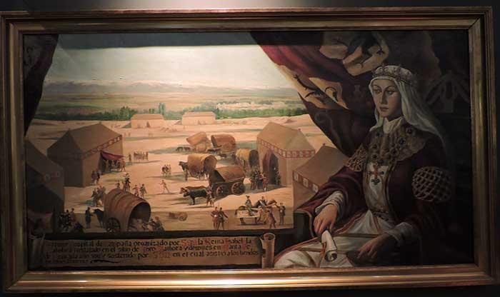 Isabel I, creadora del primer hospital de campaña en la Batalla de Toro