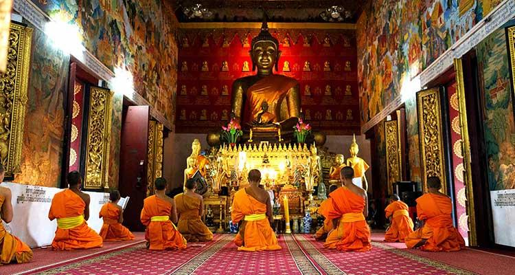 Meditación budista, una forma de oración