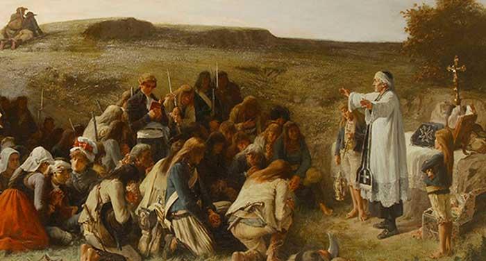 La persecución religiosa cristiana nunca falta en la revolución.