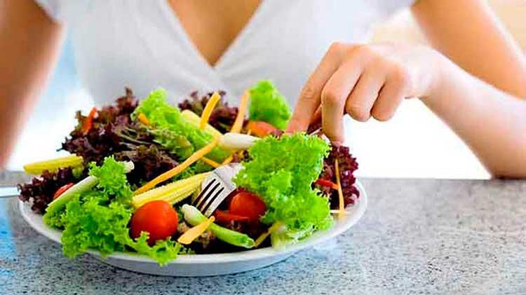 Ensaladas, plato importante del método Seignalet