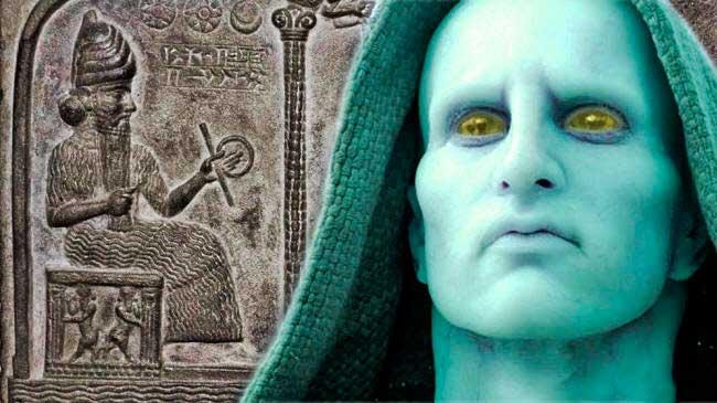 Los sumerios y los guardianes del espacio.